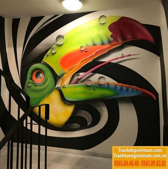vẽ tranh tường đẹp tại hà nội
