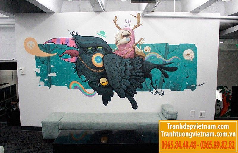 vẽ tranh tường tại thành phố HCM