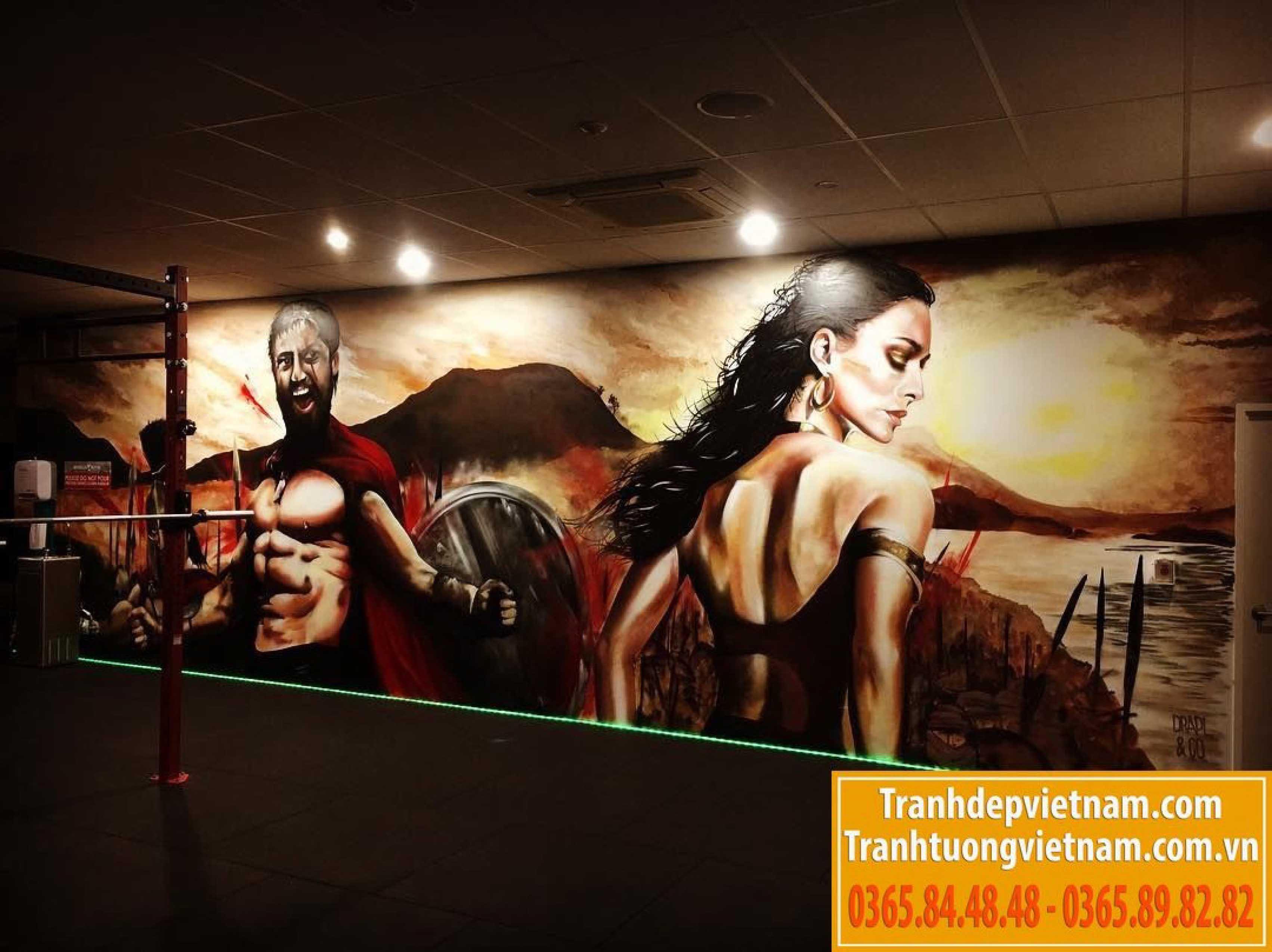Vẽ tranh tường tại việt trì phú thọ